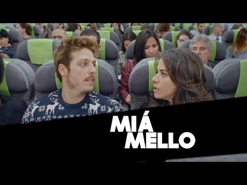 Miá Mello fala sobre carreira, parceria com Porchat e trabalho