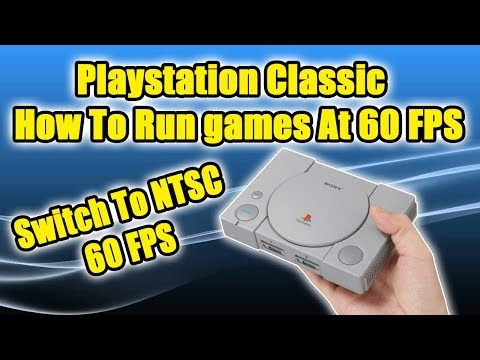 Download PlayStation Classic Run Games At 60FPS Hidden Menu Settings! - How To HD Mp4 3GP Video and MP3