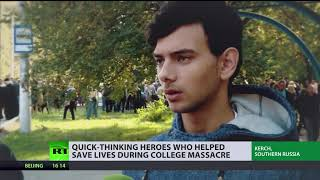 Crimea in Mourning: Quick-thinking heroes who helped save lives during college massacre