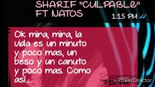 SHARIF   CULPABLE Feat NATOS