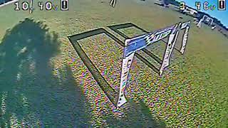 Drone race smoke vs alpi