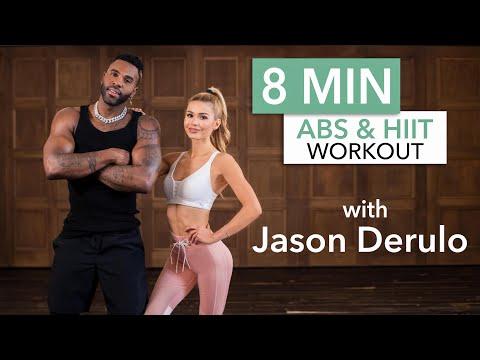 8 MIN AB & HIIT TRENING med Jason Derulo