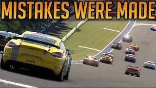 Gran Turismo Sport: Too Many Mistakes But Amazing Racing