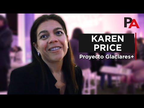 Proyecto Glaciares+, Entrevista a Karen Price