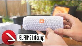 Mein Lieblings JBL Lautsprecher | JBL FLIP 5 Unboxing & Sound Check