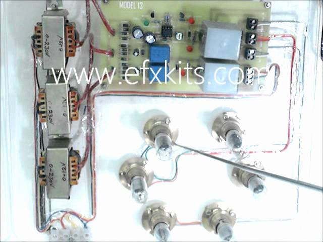 Ultra Fast Acting Electronic Circuit Breaker | Projects for EEE Students