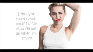 Miley Cyrus Someone else Lyrics