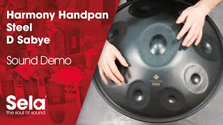 Handpan D Sabye Steel