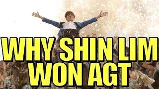 Shin Lim Wins America's Got Talent! [2018]