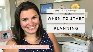 When Should You Start Planning Your Walt Disney World Vacation?  - Showcase the World Travel