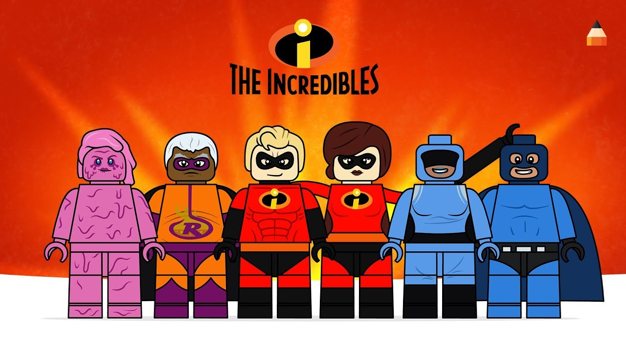 How To Draw Incredibles   Drawing LEGO Incredibles 2   Part 3 Watch How To Draw Incredibles LEGO  3