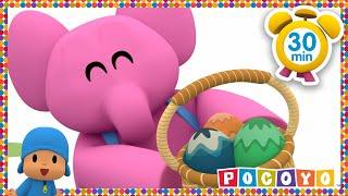 Pocoyo y los huevos de Pascua