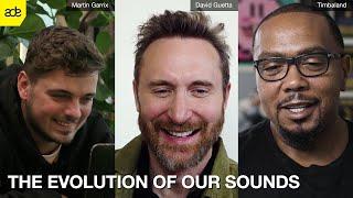 David Guetta, Martin Garrix & Timbaland | The Evolution Of Our Sounds
