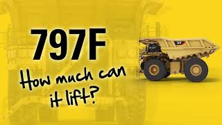 Fun facts about the cylinders of a Cat® 797F