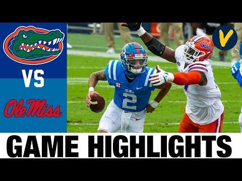 #5 Florida vs Ole Miss Highlights   Week 4 College Football Highlights   2020 College Football