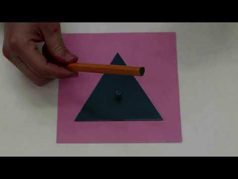 幼兒班識數學習:圓形+正方形+三角形