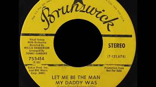 The Chi -  Lites  -  Let Me Be The Man My Daddy Was