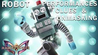 Robot: CLUES, PERFORMANCES, UNMASKING | THE MASKED SINGER | SEASON 3