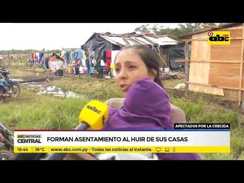 Pilar: Forman asentamientos al huir de sus casas