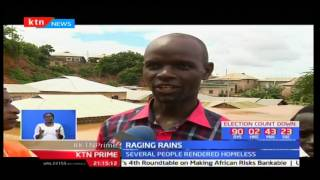 Three dead and families left homeless after their homes are submerged in Kisauni