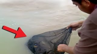 10 Scary Fishing Videos Caught on Camera!