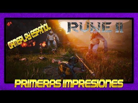NUEVO SANDBOX RPG DE VIKINGOS 👉 RUNE II 👈 PRIMERAS IMPRESIONES   GAMEPLAY ESPAÑOL