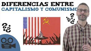 CONCEPTUALIZACION SUBJETIVA SOBRE EL CAPITALISMO Y EL COMUNISMO