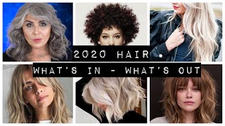 2020 HAIR Trends - Whats In Whats Out