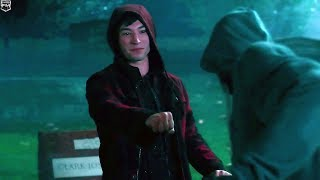Barry & Victor Tomb Raider | Justice League