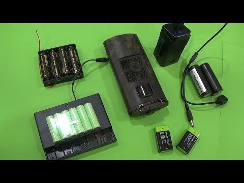 Baterias externas para cámaras trampa