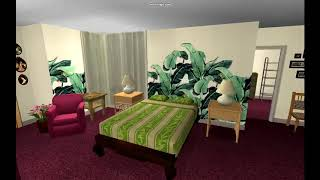 Golden Girls House in The Sims 2