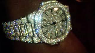 d86e2e1a4f1 patek philippe nautilus iced out diamond encrusted - मुफ्त ...