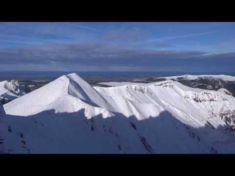 Le Mont Dore: de la piste verte au ski de couloir