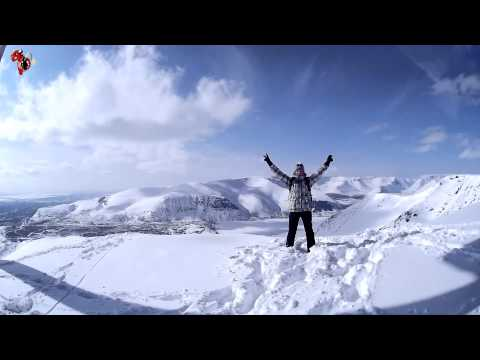 Видео: Видео горнолыжного курорта 25 км-Кукисвумчорр-Кировск в Мурманская область