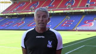 Crystal Palace Football Club head of grounds and estates chooses Dennis G860 mowers