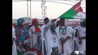APC Presidential Rally in Lafia