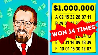 14 Times Lottery Winner Reveals His Secret To The World