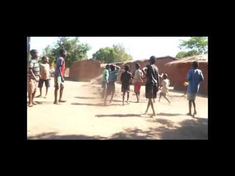 Children in Malawi village make balls from condoms