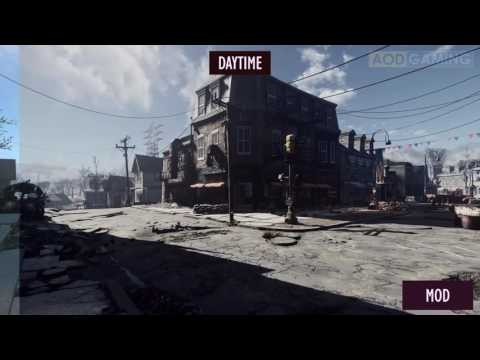 Fallout 4 Reshade Mod Showcase : Photorealistic Wasteland FX
