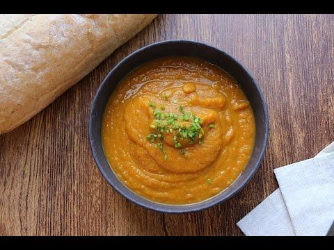 Potage de légumes grillés