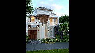 Video Beverly Park Villa Bali House 2 Floors Design Type C2 - Batam