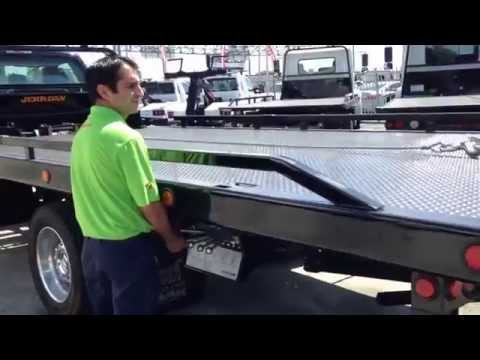 Ford F550 Rollback Tow Truck With Jerr-Dan Mp3