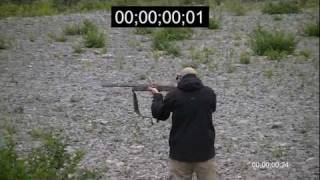 preview picture of video '4 in 0.16 second  Browning Maxus Speed Test'