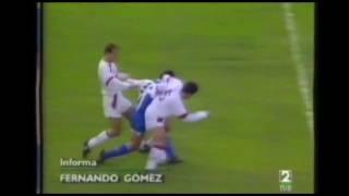 Albacete 1 - Deportivo 1. Temp. 92/93. Jor. 10