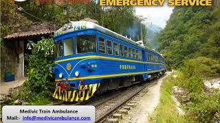 Use Medivic Train Ambulance in Kolkata and Guwahati at Low Fare