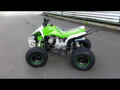 Speedy ATV 125cc 3 Gear Semi Automatic. REVIEW  - Video