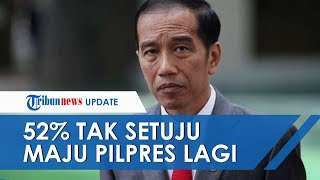 Hasil Survei SMRC Menunjukkan 52,9 Persen Responden Tak Setuju Jokowi Jadi Presiden Lagi