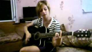 олеся дицель-фея (cover) гитара