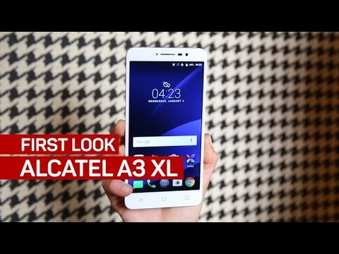 Alcatel's A3 XL is not your average budget phone