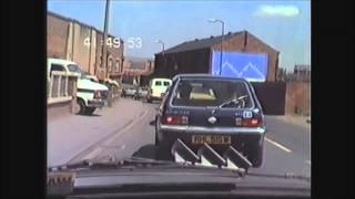 Dashcam Then & Now No.2: Whitwood To Castleford. May 1985 & July 2015